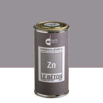 Peinture à effet, Pigment le béton MAISON DECO, zn, 0.2 kg