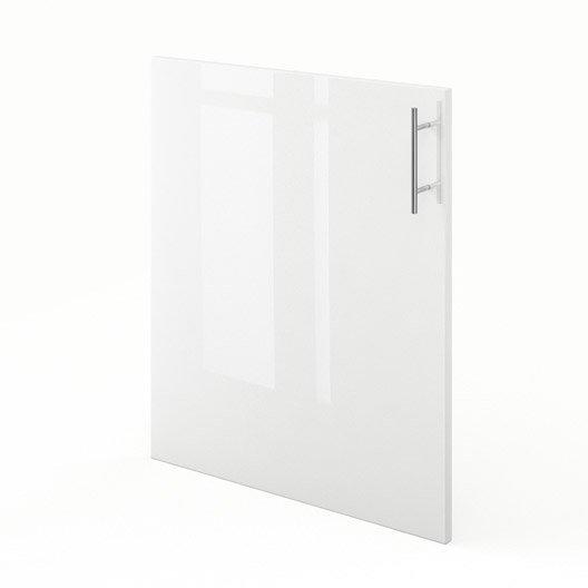 Porte de cuisine blanc f60 rio l60 x h70 cm leroy merlin - Porte facade cuisine leroy merlin ...