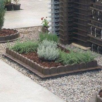 bordure de jardin bois b ton plastique pierre acier ardoise pierre reco. Black Bedroom Furniture Sets. Home Design Ideas