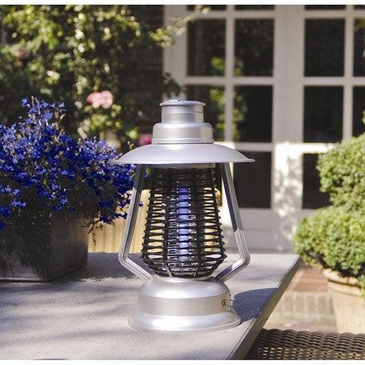 Lampe antimoustiques nortene leroy merlin for Lampe electrique exterieur