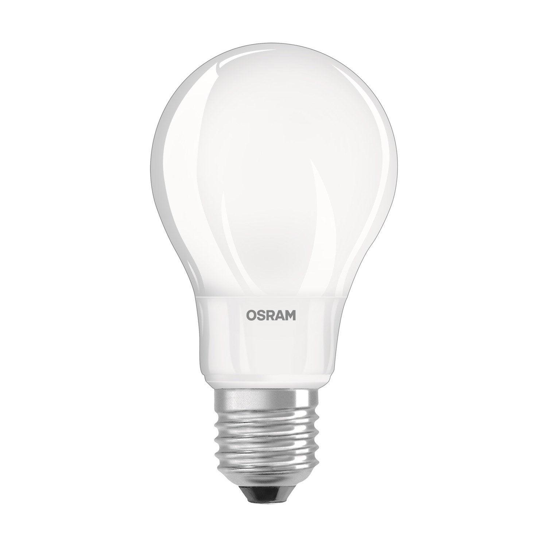 Ampoule Led 8w 806lm Equiv 60w E27 Compatible Variateur 2700k