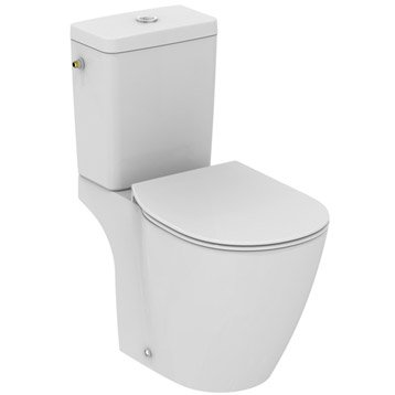 Wc poser wc abattant et lave mains leroy merlin - Abattant wc taille non standard ...
