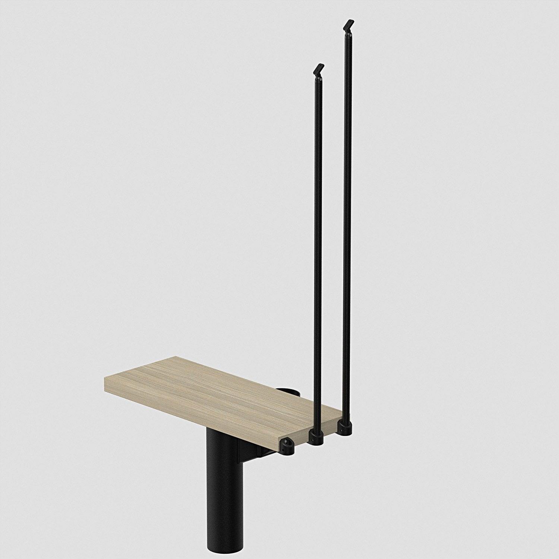 Hauteur suppl mentaire pour escalier long 80cm leroy merlin for Escalier 80 cm largeur