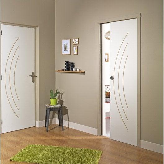 bloc porte isoplane aven x cm poussant gauche leroy merlin. Black Bedroom Furniture Sets. Home Design Ideas