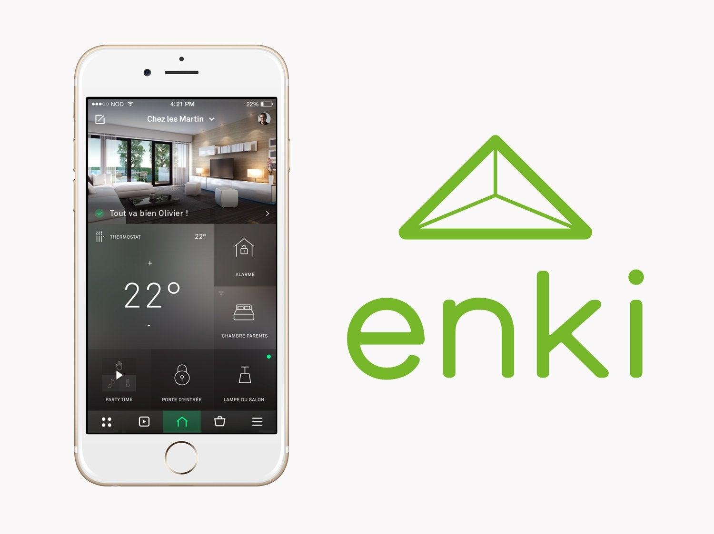 ENKI, la solution Maison Connectée par Leroy Merlin