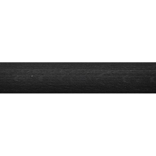 tringle rideau charme noir brut 150 cm inspire leroy. Black Bedroom Furniture Sets. Home Design Ideas