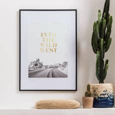 cadre milo 70 x 100 cm argent leroy merlin. Black Bedroom Furniture Sets. Home Design Ideas
