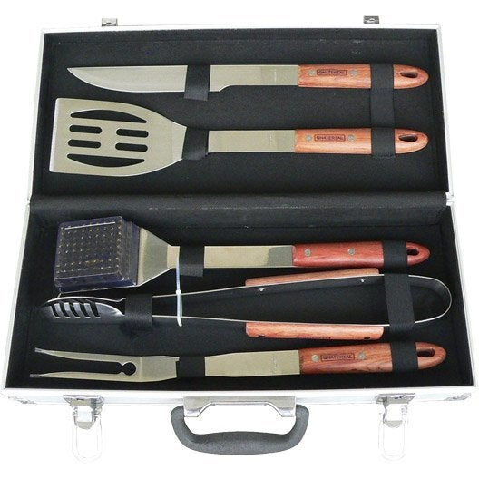 Set accessoires de cuisson naterial leroy merlin - Table de cuisson leroy merlin ...
