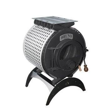 Poêle à bois BRUNO Type arcade mini ii 8 kw, 8 kW