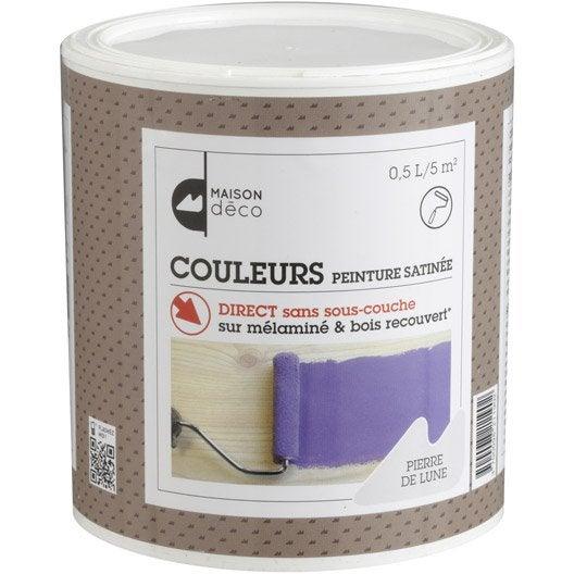 Peinture effet couleur bois et m lamin maison deco - Peinture effet pierre ...