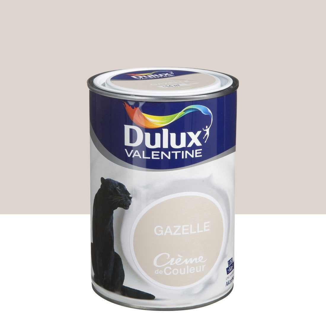 peinture brun gazelle satin dulux valentine cr me de. Black Bedroom Furniture Sets. Home Design Ideas