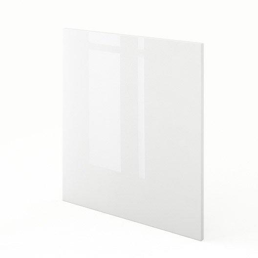 Joue meuble bas de cuisine blanc rio x cm for Meuble cuisine hauteur 70 cm
