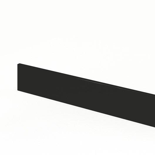 plinthe de cuisine noir plinthe rio x cm leroy merlin. Black Bedroom Furniture Sets. Home Design Ideas