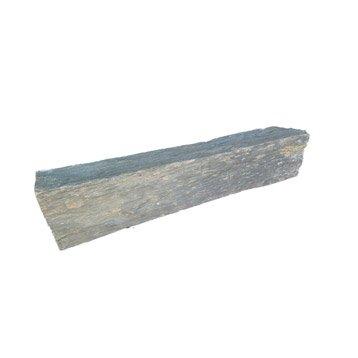 Bordure droite ardoise gris, H.10 x L.50 cm