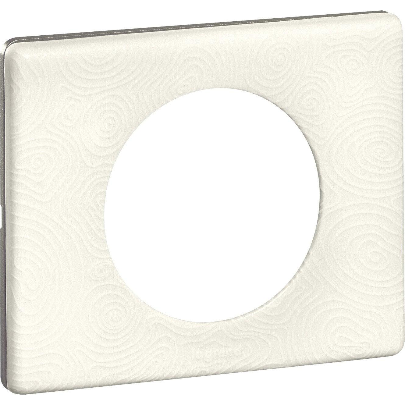 plaque simple c liane legrand songe leroy merlin. Black Bedroom Furniture Sets. Home Design Ideas