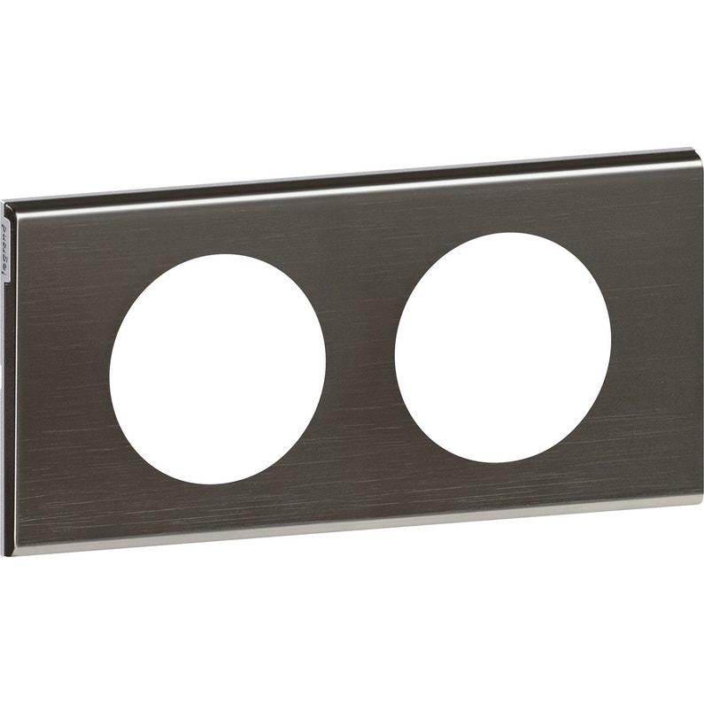 Plaque Céliane Legrand Black Nickel Mat