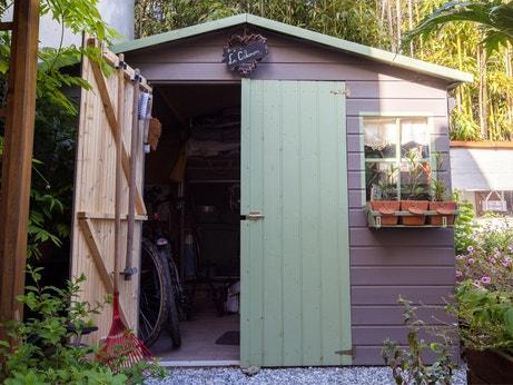 L'abri de jardin de Nathalie au Pin
