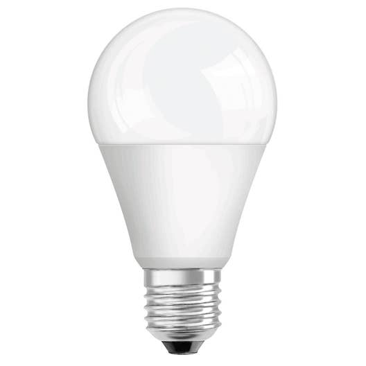 ampoule standard led 13w 1522lm quiv 100w e27 4000k osram leroy merlin. Black Bedroom Furniture Sets. Home Design Ideas