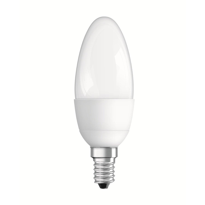 ampoule flamme led 6w 470lm quiv 40w e14 compatible. Black Bedroom Furniture Sets. Home Design Ideas
