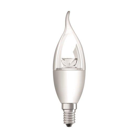 Ampoule Flamme Led 5 7w 470lm Quiv 40w E14 Compatible