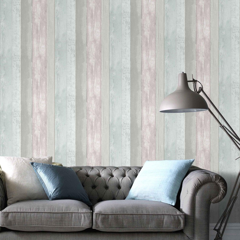 papier peint papier eastport multicouleur leroy merlin. Black Bedroom Furniture Sets. Home Design Ideas