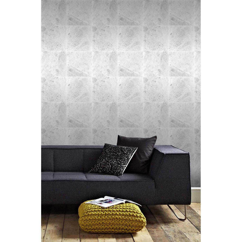 papier peint intiss manara gris leroy merlin. Black Bedroom Furniture Sets. Home Design Ideas