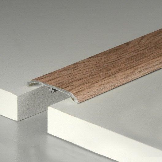 barre de seuil pour sol stratifi effet ch ne blond cm x mm leroy merlin. Black Bedroom Furniture Sets. Home Design Ideas