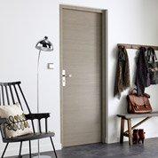 porte coulissante rev tu d cor ch ne fum londres 204 x. Black Bedroom Furniture Sets. Home Design Ideas
