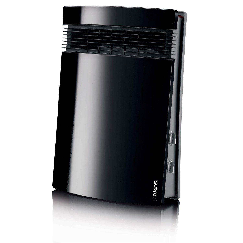Radiateur Electrique Salle De Bain Economique ~ radiateur soufflant salle de bain fixe lectrique supra lito 01 noir