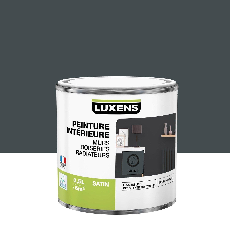 Peinture mur, boiserie, radiateur LUXENS, paris 1 0.5 l, satin