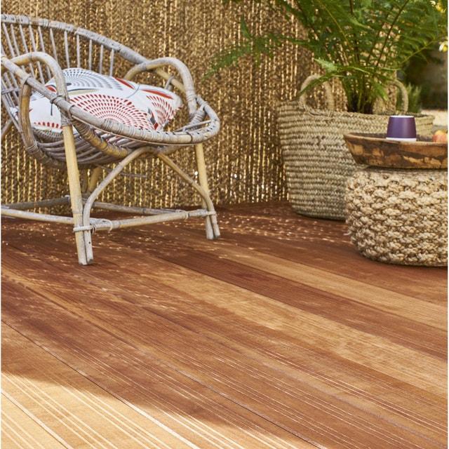 une terrasse bois pour un effet cosy  leroy merlin
