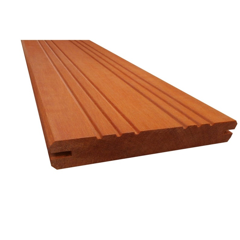 Planche Bois Akola Naturel L 225 X L 14 5 Cm X Ep 22 Mm