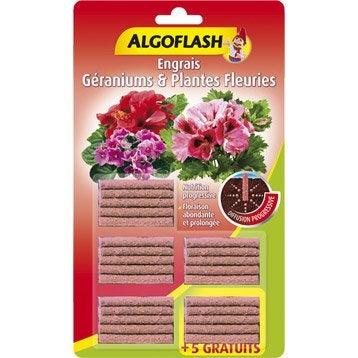 Engrais plantes fleuries ALGOFLASH 25 bâtonnets