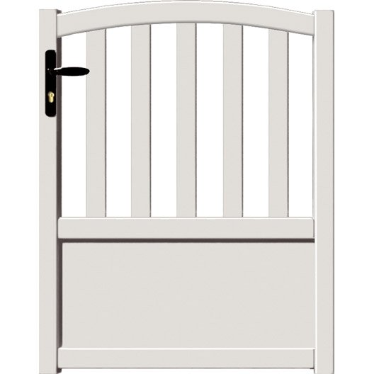portillon battant en aluminium loray x cm. Black Bedroom Furniture Sets. Home Design Ideas