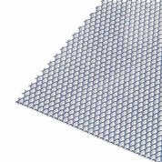 Tôle perforée aluminium epoxy, L.100 x l.60 cm x Ep.1.6 mm