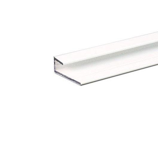 cimaise lisse aluminium epoxy x l 2 5 cm x ep 1 3. Black Bedroom Furniture Sets. Home Design Ideas