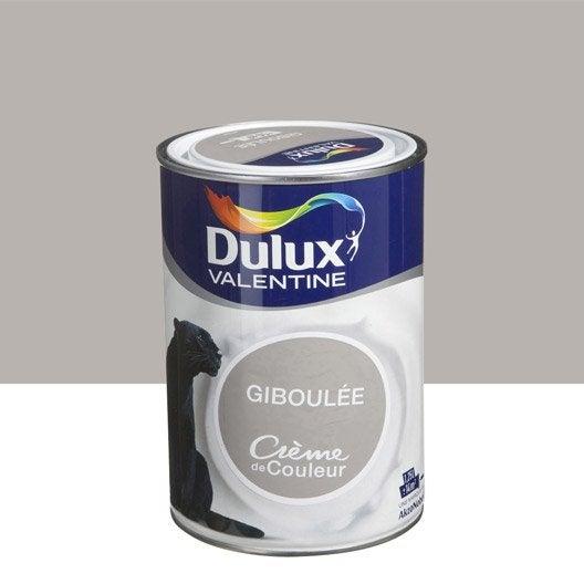 Peinture brun giboul e dulux valentine cr me de couleur 1 - Peinture marron glace dulux valentine ...