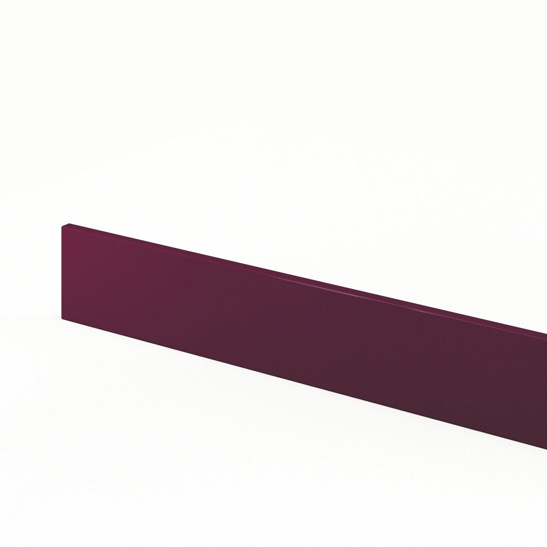 Plinthe de cuisine violet rio x cm leroy for Plinthe cuisine 17 cm