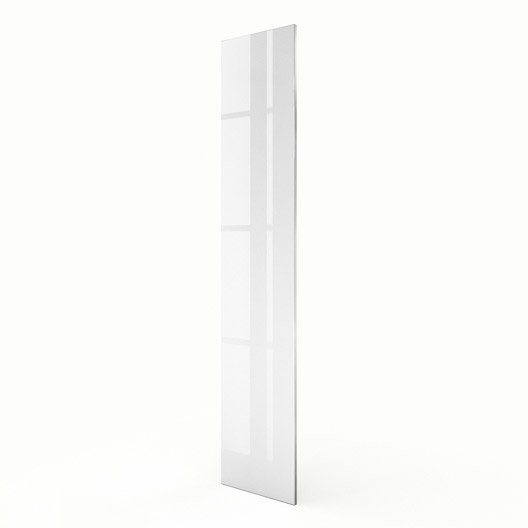 Porte colonne de cuisine blanc everest x cm for Colonne cuisine 40 cm