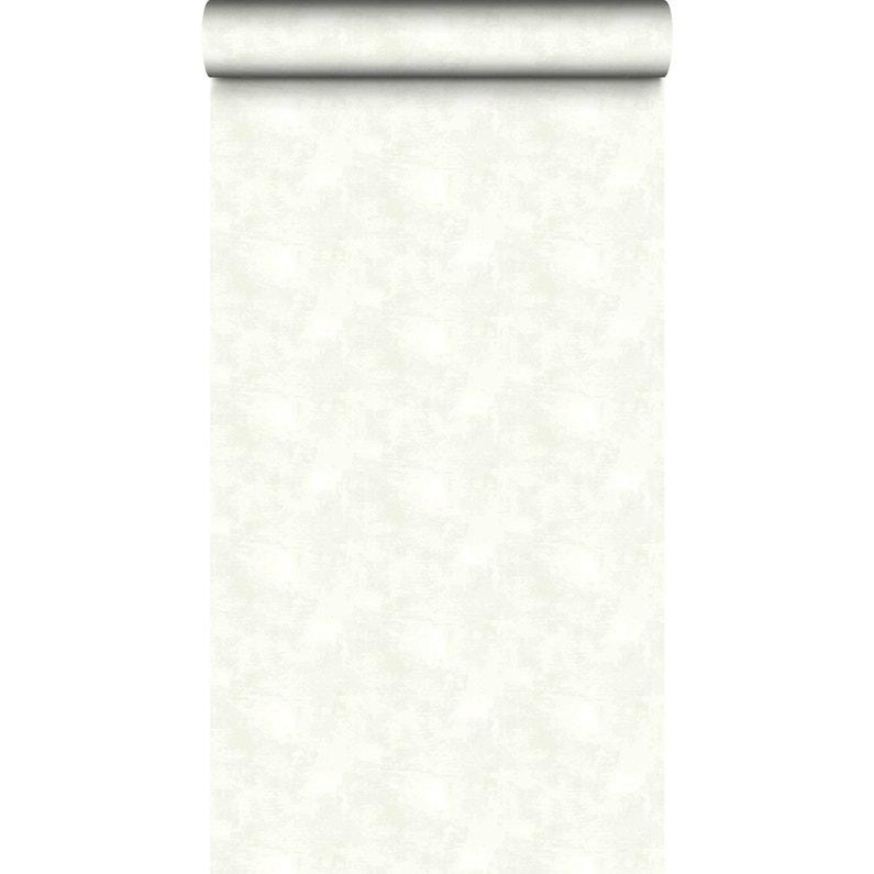 Papier Peint Intisse Velours Blanc Leroy Merlin