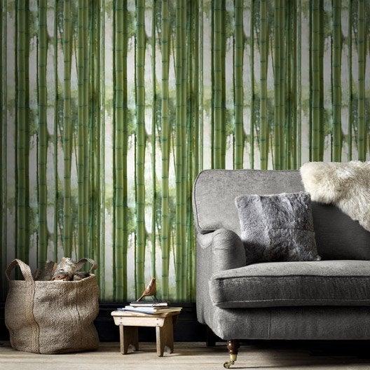 Papier peint intissé Bamboo