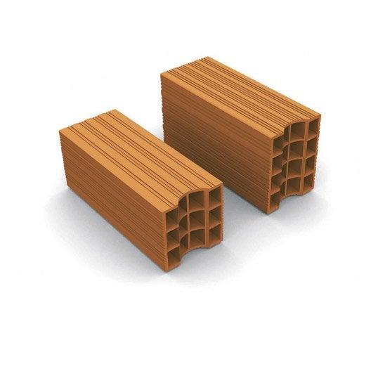 brique standard bio 39 bric x x cm leroy merlin. Black Bedroom Furniture Sets. Home Design Ideas