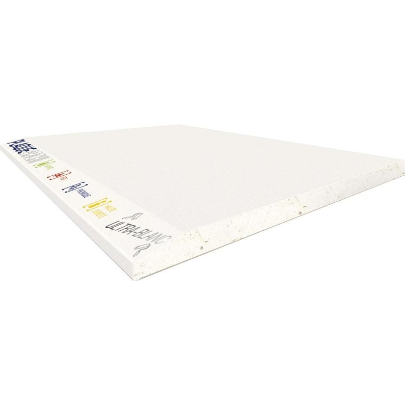 Plaque De Plâtre Ba 13 4 En 1 H250 X L120 Cm Hydro Feu Hd Phonique Fassa