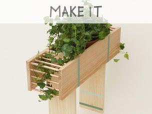diy transformer des pots de fleurs en nichoirs. Black Bedroom Furniture Sets. Home Design Ideas