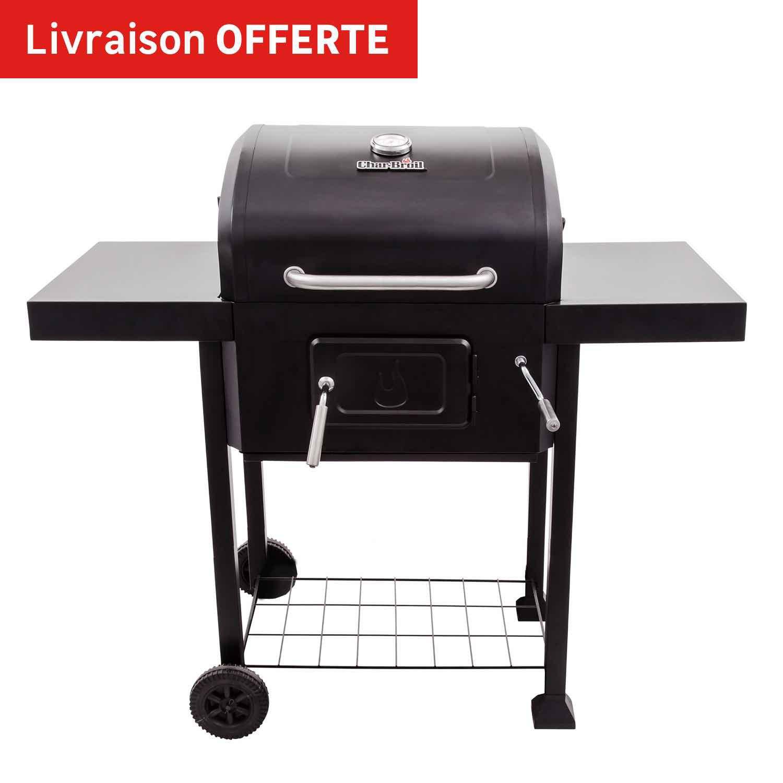 Barbecue au charbon de bois char broil performance 2600 noir leroy merlin - Barbecue fonte charbon de bois leroy merlin ...
