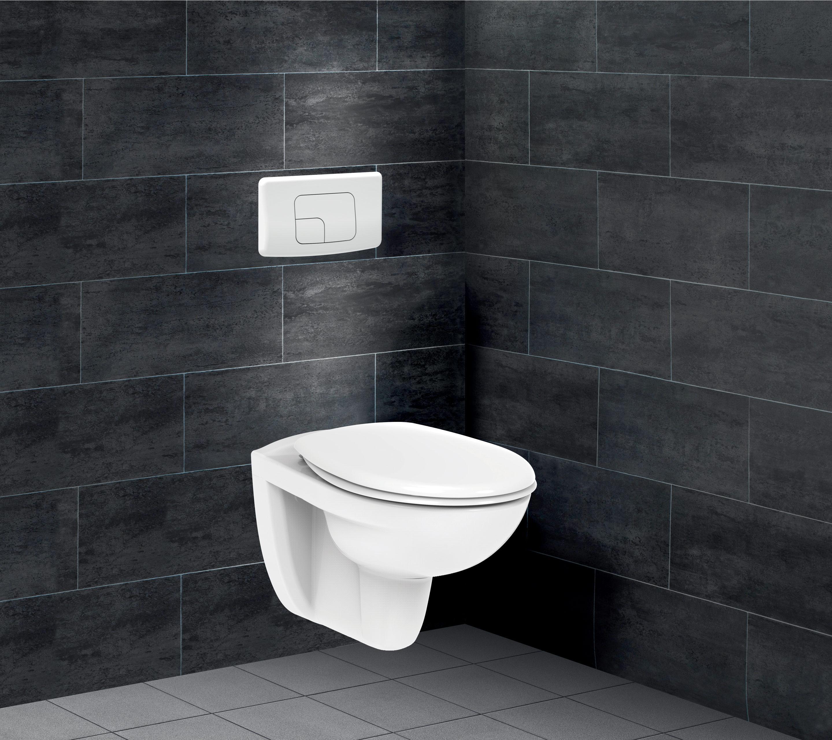 Pack WC suspendu bâti universel verticale Essential SENSEA
