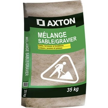 Sable gravier et sel de d neigement leroy merlin - Dosage beton pelle sac 35 kg ...