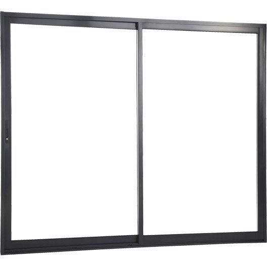 Corni re fen tre porte fen tre et baie coulissante 25x25 for Porte vitree coulissante exterieure