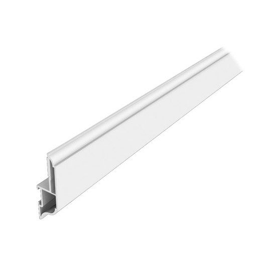 Moulure d 39 habillage fen tre 60x19 mm longueur 3 m for Finition pvc fenetre