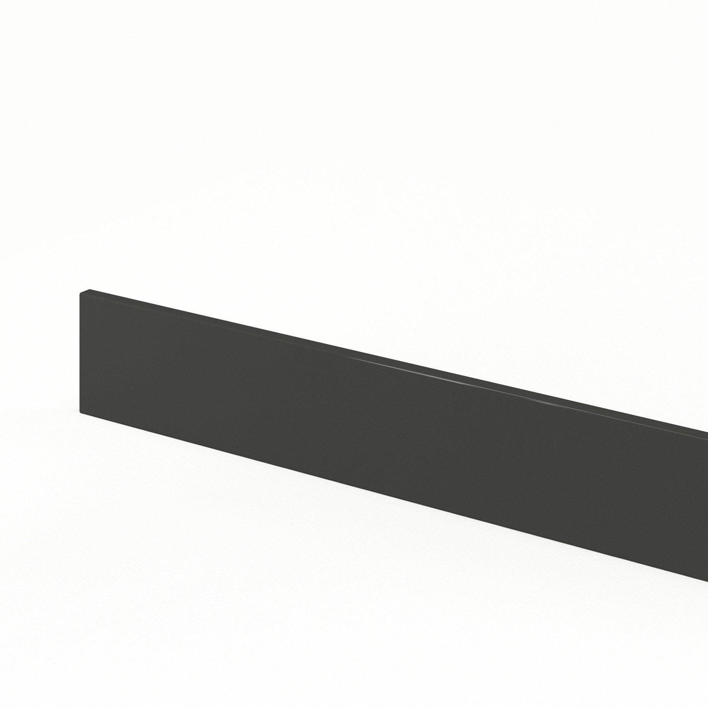 plinthe de cuisine gris rio x cm leroy merlin. Black Bedroom Furniture Sets. Home Design Ideas